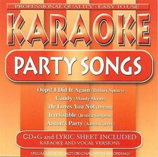 Karaoke - Karaoke: Party Songs - Cd - Karaoke Used complete