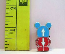 WALT DISNEY VINYLMATION JR THIS & THAT SIGNS ARROWS UP & DOWN TRADING PIN 90656