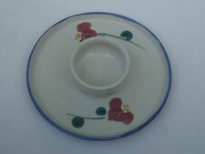 Australian Pottery Chip and Dip Serving Platter *Paul Ronay Pottery Brisbane