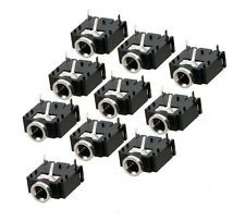 10pcs 3.5mm Stereo Audio Socket Phone Jack Connector 3-Pin PCB Mount