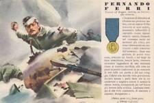 A6332) WW2, GRECIA, M. O. FERRI DA PALERMO, 14 FANTERIA PINEROLO. VIAGGIATA.
