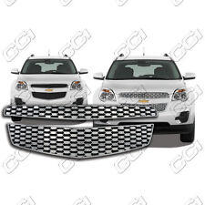 Chrome Grille Overlay Compatible with 2010 2011 Chevy Equinox (LS / LT / LTZ)