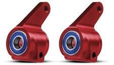 Traxxas Rustler / Stampede / Bandit / Slash Red Aluminum Steering Blocks 3636X