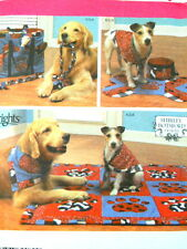 Simplicity Puppy Dog Accessories Sewing Pattern 4061 Blanket Scarf Toy Uncut