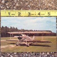 1931 Great Lakes Bi Plane Vintage Postcard Acrobatic Plane Post WWII