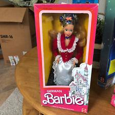 Barbie Dolls of the World German 1986