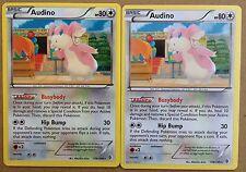 2x Audino 126/149 BW Boundaries Crossed *N/Mint* Pokemon Cards GO