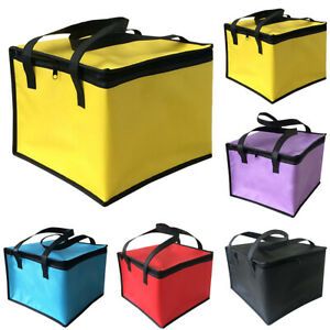 Large Cool Bag Insulated Thermal Cooler Food Drink Outdoor Portable Lunch Picnic