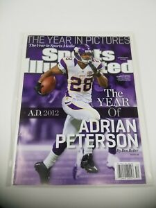 Adrian Peterson 12/24/2012 NO LABEL SI  Sports Illustrated Mint issue Vikings
