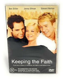 Keeping The Faith (DVD, 2000) Jenna Elfman New & Sealed Region 4 Free Postage