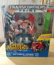 Transformers Prime Beast Hunters Optimus Prime - Voyager Class, MISB