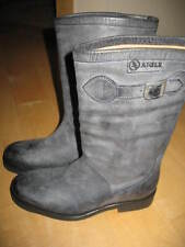 Aigle Suede/Leather Boots- Chantabelle-Gray-US 5 1/2-New