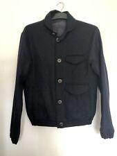 Oliver Spencer Mens Navy Pure Wool Jacket | Size 38
