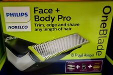 Philips Norelco Oneblade Pro Electric Trimmer and Shaver Length Comb no charger