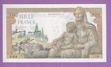 (Ref: P.179) 1000 FRANCS DÉMÉTER 11/06/1942 (NEUF)
