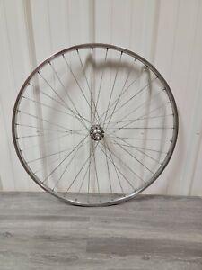 """Vintage 27"""" X 1 1/4"""" Femco Road Bike Rear Wheel 36 Spoke Shimano 126mm Freewheel"""