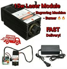 10% DISCOUNT Laser 15W Blu-Ray 450nm engraver CNC wood leather Engraving machine