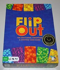 Flip Out Card Game The Switching Swapping and Swiping Card Game RARE Great Game