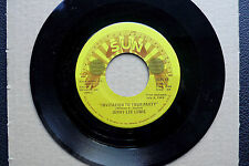 "7"" Jerry Lee Lewis - Invitation To Your Party - US SUN"