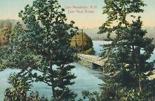 NEW HAMPSHIRE NH - Lake Massabesic Deer Neck Bridge