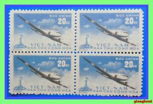 North Vietnam 1959 Aviation Block 4 MNH NGAI