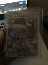 Cynthia and Caitlin Full Art Trainer 228/236 Cosmic Eclipse UNPLAYED Pack Fresh