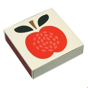 VINTAGE APPLE BOX OF LONG SAFETY MATCHES