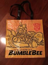 SDCC 2018 Hasbro Transformers Large Tote Bag, featuring Bumblebee
