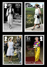 Mint Never Hinged/MNH British Virgin Islander Royalty Stamps
