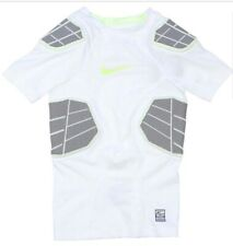 NIKE Pro Combat Hyperstrong Compression 4 Pad Football Boys Shirt XXL Retail $70