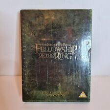 Lord of Rings Fellowship of The Ring Extended Edition Movie Version Film DVD UK