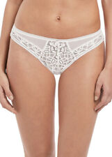 Freya Briefs Soiree Lace Brazilian Knickers Brazilian 5017 White Various Sizes