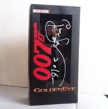 "Pierce Brosnan signed autograph James Bond 007 ""GoldenEye"" 8"" figure COA"