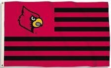 Louisville Cardinals 3' x 5' Flag (Stripes) NCAA Licensed