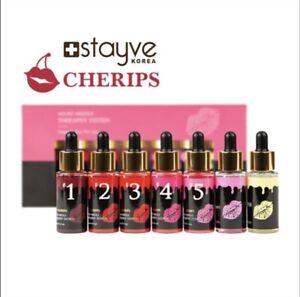 👄 STAYVE BB GLOW Lips CHERIPS Kit 7 Vials X 30ml Meso 100%  Authentic