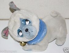 "12"" Disney Percy Pocahontas Dog Stuffed Animal Plush Souvenir Moveable Head"