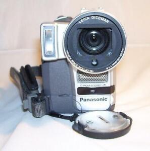 PANASONIC NV-GX7B CAMCORDER MINI DV TAPE.1.2 MP DV-IN AV-IN FLASH 1-yr wrnty VGC