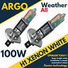 MG ZT ZR H1 100W SUPER WHITE XENON HID HIGH/LOW/FOG HEADLIGHT BULBS