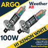 2 pzas H1 100w MUY Blanco Faro Xenón / DELANTERO / luz antiniebla Bombillas 12v
