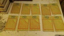 carta d italia touring club italia - 1 cartina a scelta dal numero 1 al 10 -