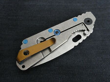 Bronze Titanium Deep Carry Pocket Clip for Strider PT Strider SNG Strider SMF
