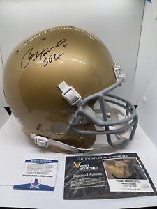 Paul Hornung Signed Notre Dame Fighting Irish Full Size Helmet Beckett COA