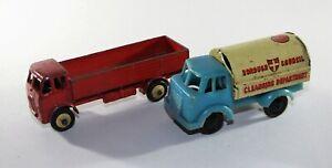 Dinky Toys old model TRUCK LORRY 25R & Tin Council Van Toy Car Bundle Joblot