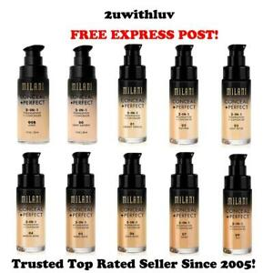 MILANI CONCEAL + PERFECT 2-IN-1 FOUNDATION + CONCEALER **FREE EXPRESS POST**