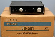 TEAC UD-501 BLACK DUAL MONO DAC (Japan 100V version) with step-down converter