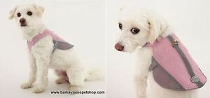 Pink Reflective Dog Harness by Doggles