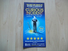 **The Curiuos Incident of the dog in the night time Flyer At Newcastle Theatre R