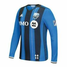 Adidas Impact Montreal Authentic LS MLS Soccer Jersey AB9418 Men's Large M L XL