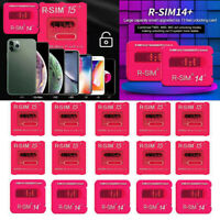 RSIM-15 Rro RSIM-14 Nano Unlock Card for iPhone 11 Pro X XS Max 8/7 iOS13+ LOT