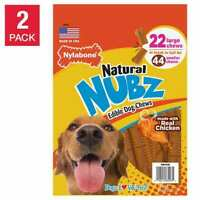 Nylabone NUBZ Dog Chews, 22-count, 2-pack FRESH